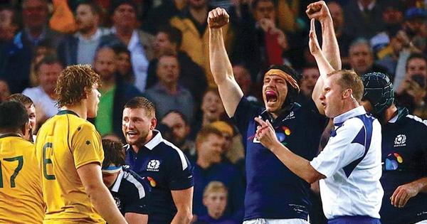 Scotland upset Australia in tight encounter in Sydney