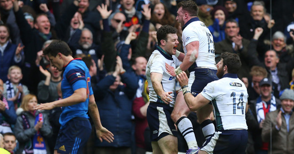 Scotland come up trumps against France at Murrayfield