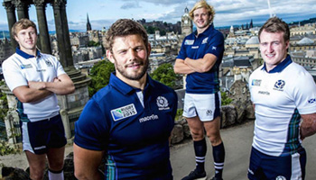 Scotland unveil striking new Rugby World Cup 2015 kit