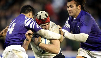 Scotland snatch last gasp win over Samoa