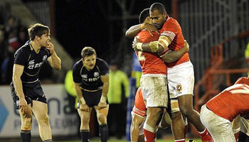 Scotland vs Tonga Highlights - November 2012