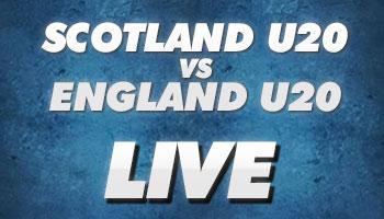 Scotland U20 vs England U20 - LIVE Stream - Friday 7:30pm GMT