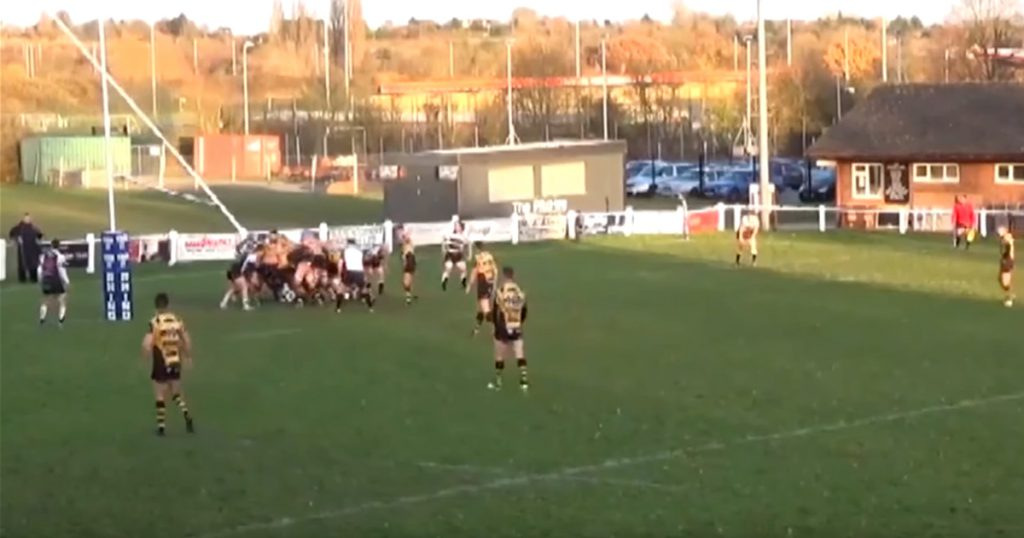 Midweek Madness - Powerful scrum sends pack and posts backwards