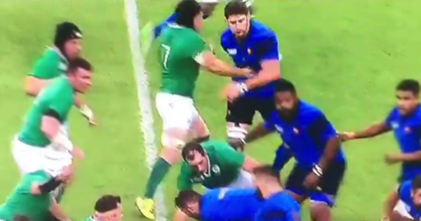 Sean O'Brien cited for punching Pascal Pape in opening minute of Cardiff clash