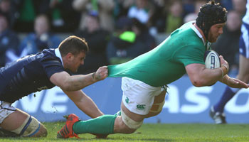 Ireland thump Scotland to set up second Championship title in succession