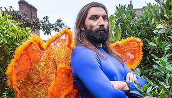 Friday Funnies - Sebastien Chabal as a fairy in new TV ad