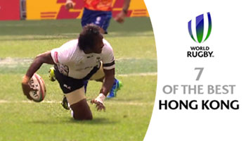 Seven Brilliant Tries from the 2015 Hong Kong Sevens
