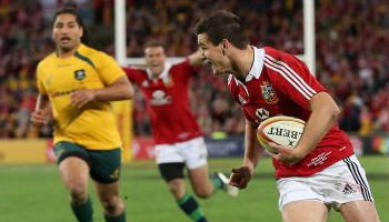The British and Irish Lions win the series 2-1 after third Test rout