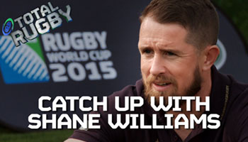 Shane Williams discusses life in Japan and that British & Irish Lions call up
