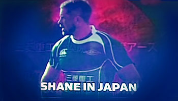Shane Williams in Japan - Catch up with the Welsh legend