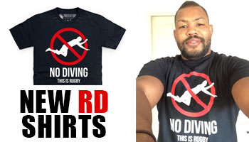 New Rugbydump Shirts featuring European Player of the Year Steffon Armitage