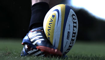 Rugby Impacts in Slow Motion with Bath Rugby