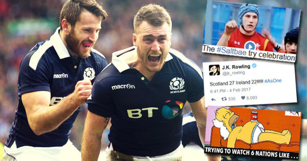 2017 Six Nations: The Best of Social Media from Round One