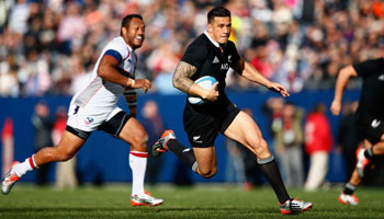 Record crowd witnesses All Blacks in full flight as they crush USA