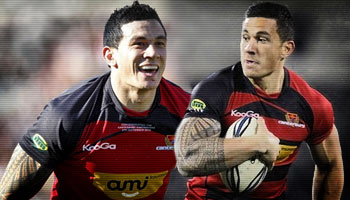 The best of Sonny Bill Williams for Canterbury in 2010