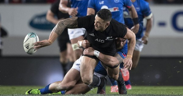 All Blacks looking white hot as they demolish Samoa in rout
