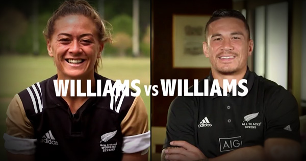 Williams siblings included in New Zealand's Sevens squads for Rio