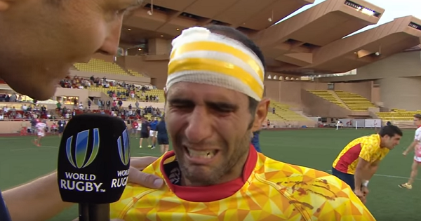 Tears of joy as we see how much Olympic qualification means to Spain