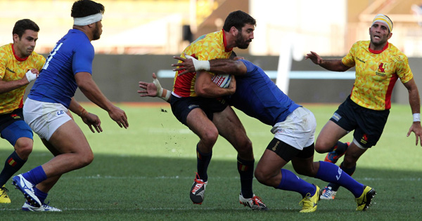 Spain shock Samoa to qualify for the 2016 Rio Olympics 7s
