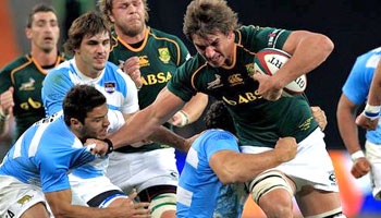 The Springboks demolish Argentina in Soweto try-fest