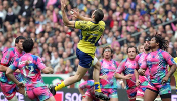 Clermont beat Stade Francais - Big hits by Leguizamon and Liebenberg