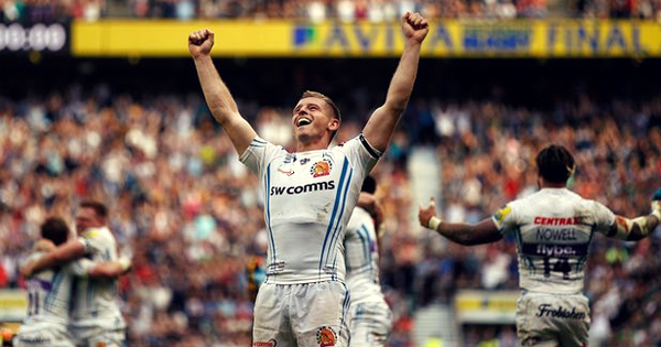 Exeter Chiefs edge Wasps at the death in Aviva Premiership Final