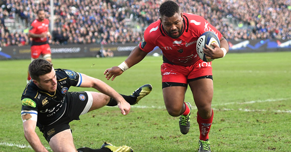 Steffon Armitage massive fend on George Ford as Toulon beat Bath