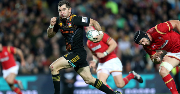 The Chiefs score six tries to thump Wales in midweek match