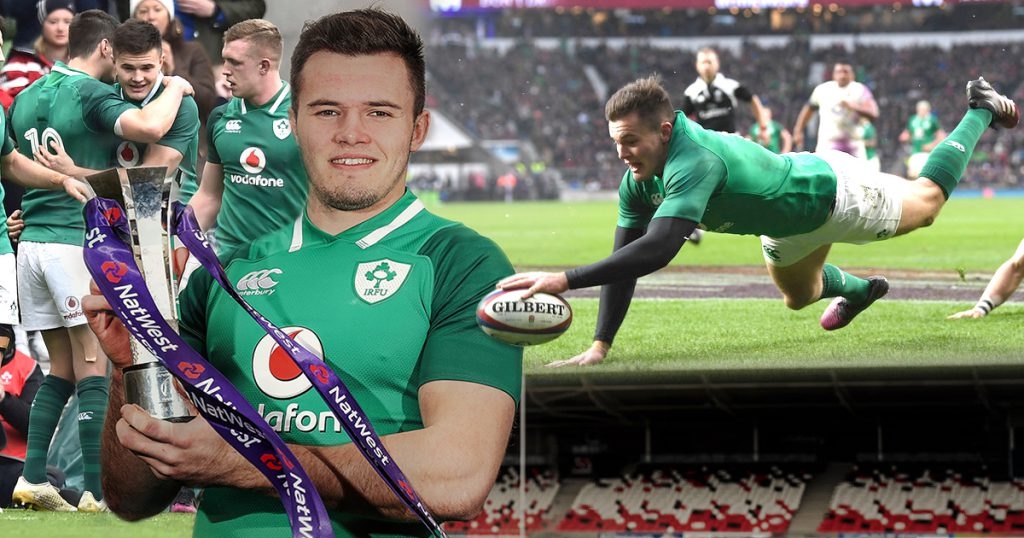 Jacob Stockdale picks up Player of the Championship after breakthrough campaign