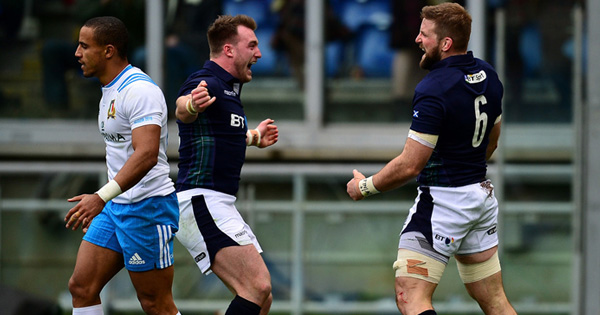 Scotland end Six Nations losing streak with good win over Italy in Rome