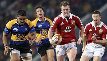British and Irish Lions thump Combined Country in Newcastle