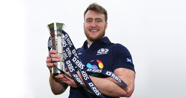 Stuart Hogg named Six Nations Player of the Championship for 2016