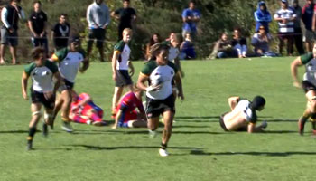 Amazing end-to-end passage of play results in try for Suburbs vs Grammar-Carlton