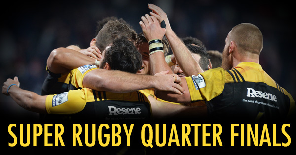 Super Rugby 2016 Quarter Finals Confirmed