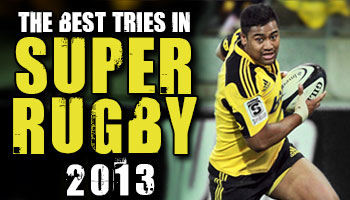 Compilation of the Top Tries in Super Rugby in 2013