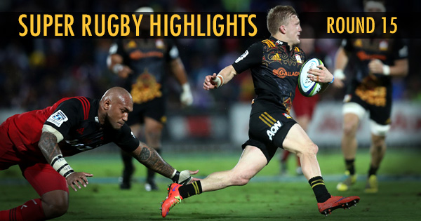 Super Rugby Highlights feed - Round 15