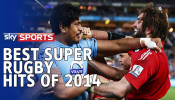 Sky Sports selection of the Best Super Rugby Hits in 2014