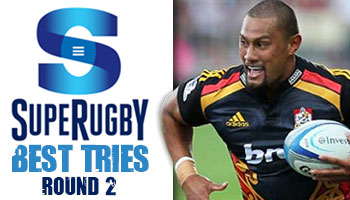 The Best Tries scored in Round 2 of Super Rugby 2014