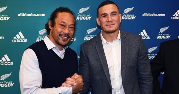 Sonny Bill Williams signs with the Blues until 2019