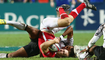 Ilai Tinai suspended for five weeks for dangerous tackle against Wales