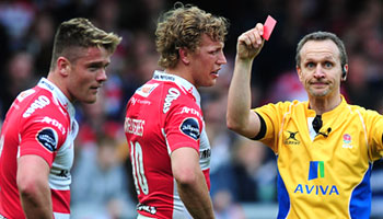 Tavis Knoyle punches Leroy Houston in dramatic Gloucester vs Bath derby