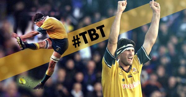 #TBT to Australia's dramatic Bledisloe Cup triumph in 2000