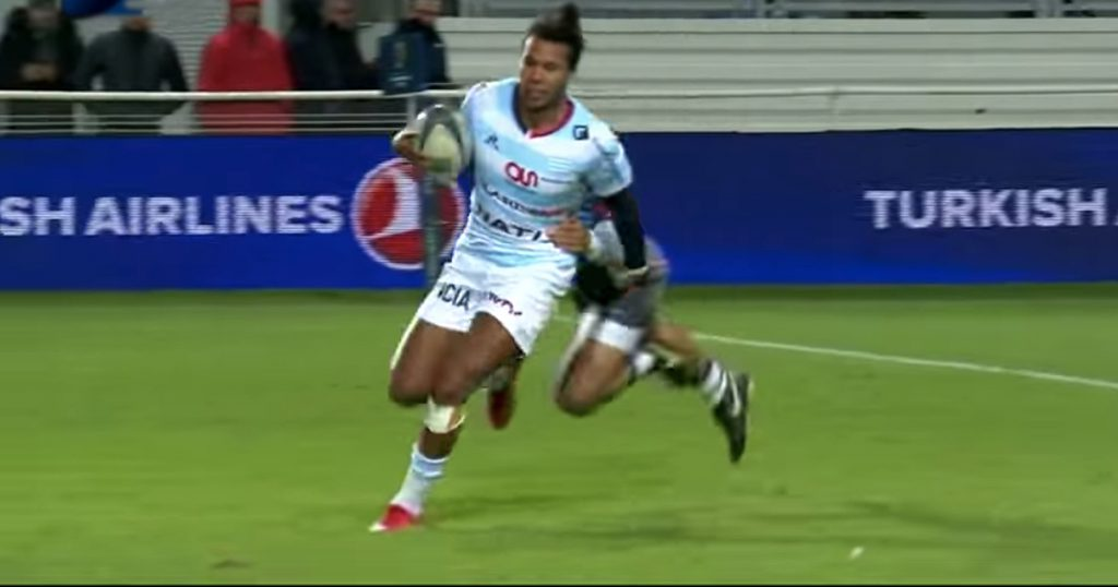 Teddy Thomas makes a howling error as Racing 92 slip to defeat in Europe