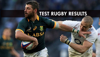 Test Rugby Results - November 15th weekend