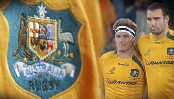 The Golden Thread - A Poetic Tribute to the Wallabies by Rupert McCall