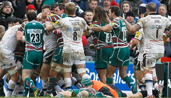 Three red cards in heated Leicester Tigers vs Bath battle at Welford Road