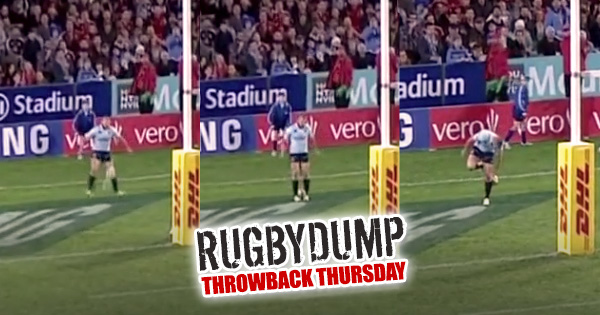 Throwback Thursday - The Time Drew Mitchell caught the ball with his feet