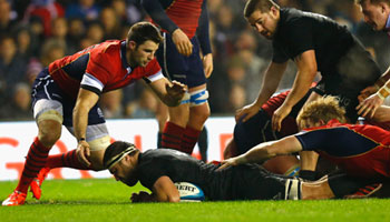 Scotland give New Zealand Murrayfield scare but come up short