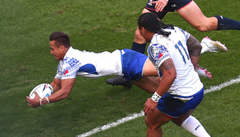 Tim Nanai-Williams and Samoa get the better of the USA in Brighton