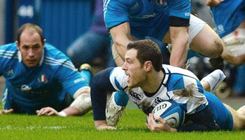 Scotland score four tries in impressive win over Italy at Murrayfield